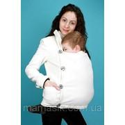 Слингопальто кашемировое для беременных фото