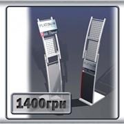 Рекламная стойка напольная Платинум фото