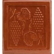 Кафельная плитка Виноград коричневый Romanceram фото