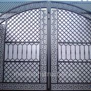Арочные ворота №48 фото