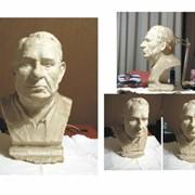 Скульптурный портрет фото