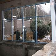 Монтаж витражей, ворот, окон, дверей, цена Минск фото