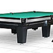 Бильярдный стол для русского бильярда Magnum 10ф (черный) фото