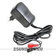 Зарядное устройство 6V 600mA на клеммы для электромобиля, электромотоцикла, электроквадроцикла фото