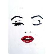Виниловая наклейка для ноутбука Монро фото