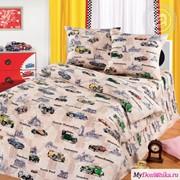 Детское постельное белье Автокруиз (100, 70х70, 1.5-сп.) фото
