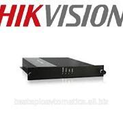Передатчик цифрового видео по оптоволокну Hikvision 1 канальный DS-3D201R-A фото