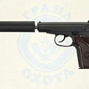 Пистолет софтэйр GALAXY G.29A пружинный (PM, с глушителем ) (6мм фото
