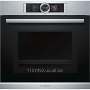 Духовой шкаф с микроволновой печью Bosch HMG636RS1 фото
