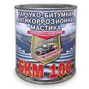 Мастика «БКМ-100» АНТИКОРРОЗИОННАЯ МАСТИКА КАУЧУКО-БИТУМНАЯ фото
