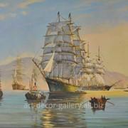 """Картина из серии """"Морской пейзаж"""" фото"""