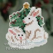 Набор для вышивания Winter Bunnies фото