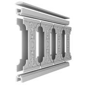 Балюстрада бетонна класична фото