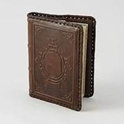 Кожаный ежедневник в подарок малый Щит фото