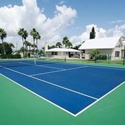 Строительство теннисных кортов, теннисные корты фото