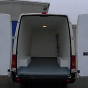 Изотермический фургон цельнометаллический фото