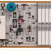 Учебный стенд PASKAL АСО-1 Автономная автоматизированная система отопления фото