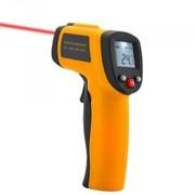 Бесконтактный инфракрасный термометр с лазером и ЖК дисплеем фото