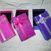 Коробки подарочные, упаковка футляры для ювелирных изделий фото