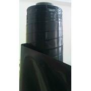 Пленка полиэтиленовая строительная (черная) фото