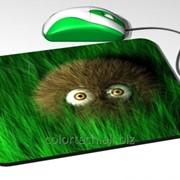 Компьютерный коврик для мыши нанесенным логотипом, изображением. По индивидуальному заказу. фото