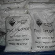 Цинк хлористый б/водный (Китай) фото