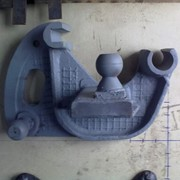Кронштейн поворотный правый ДЗ-122А.02.04.000 фото