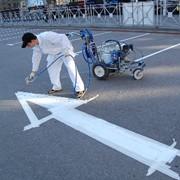 Нанесение дорожной разметки на парковках, площадках, придомовых территориях фото