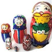 Матрешка Сказка-Репка 6 кукольная 16см фото