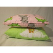 Подушка детская в кроватку 40*40 фото