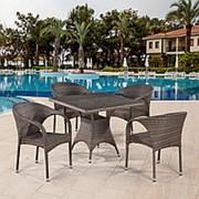 Комплект плетеной мебели T220BG/Y290BG-W1289 Pale 4Pcs фото