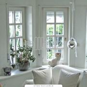 Производим окна деревянные, фурнитура импортная, товар имеет сертификат соответствия фото