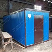 Блок Контейнер 6х2,4х2,5 (ЛДСП — темный) фото