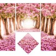 Модульна картина Тунель кохання фото