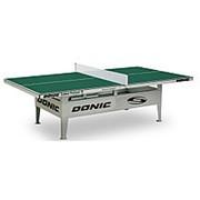 Всепогодный Теннисный стол Donic Outdoor Premium 10 зеленый фото