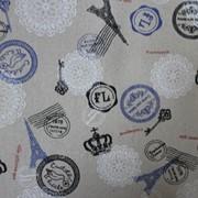 Ткань для скрапбукинга клеевая 04905 фото