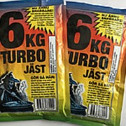 Дрожжи сухие активные Turbo 6 JAST фото