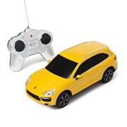 Porsche Cayenne Turbo RASTAR, 1:24 радиоуправляемая модель, Джойстик, Жёлтый фото