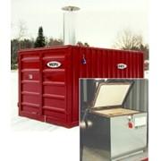 Контейнер HOT BIO BOX 180 кг / 350 литров для сжигания био-отходов фото