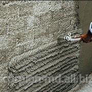 Штукатурка цементная фото
