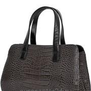 Классическая кожаная сумка 1-2805 фото