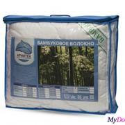 Одеяло стеганое бамбуковое волокно 250 гр. в чемодане (ОБВ25С-14ч, 140х205) фото