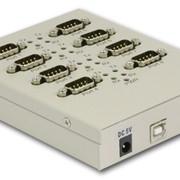 Интерфейсы промышленные и медиаконвертеры. Конвертер сигналов RS-232 в RS-422/485 фото