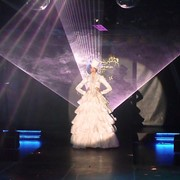Лазерное шоу на свадьбе фото