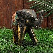 "Сувенир дерево ""Царский слон"" 24х11х25 см фото"