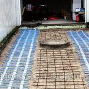 Греющий кабель,мат 300 Вт/м², площадь обогрева 1,2 м² фото