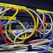 Монтаж телекоммуникационного оборудования фото