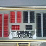 Набор пробных очковых линз с универсальной оправой, большой (266 линз) фото