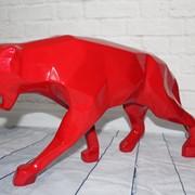 Эксклюзивные полигональные фигуры животных из композитного пластика для интерьера фото