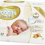 Подгузники Huggies Elite Soft №1 ( до 5 кг), 27 шт фото